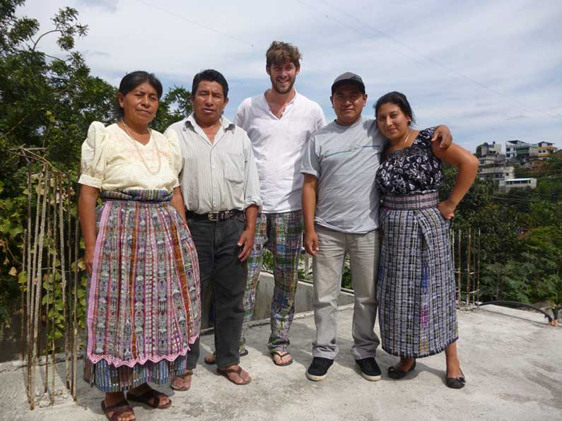 Mayan family in Guatamala
