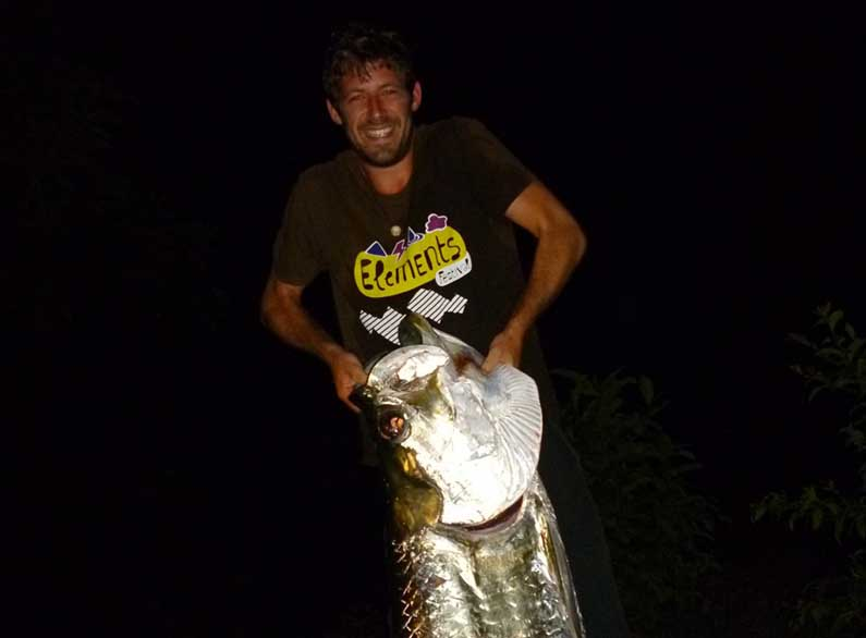 Caught Fish in Nicaragua by World Travel Fish